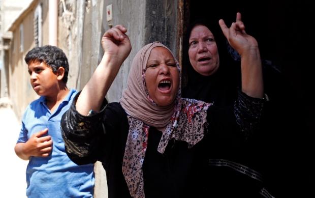 Violence in Gaza City