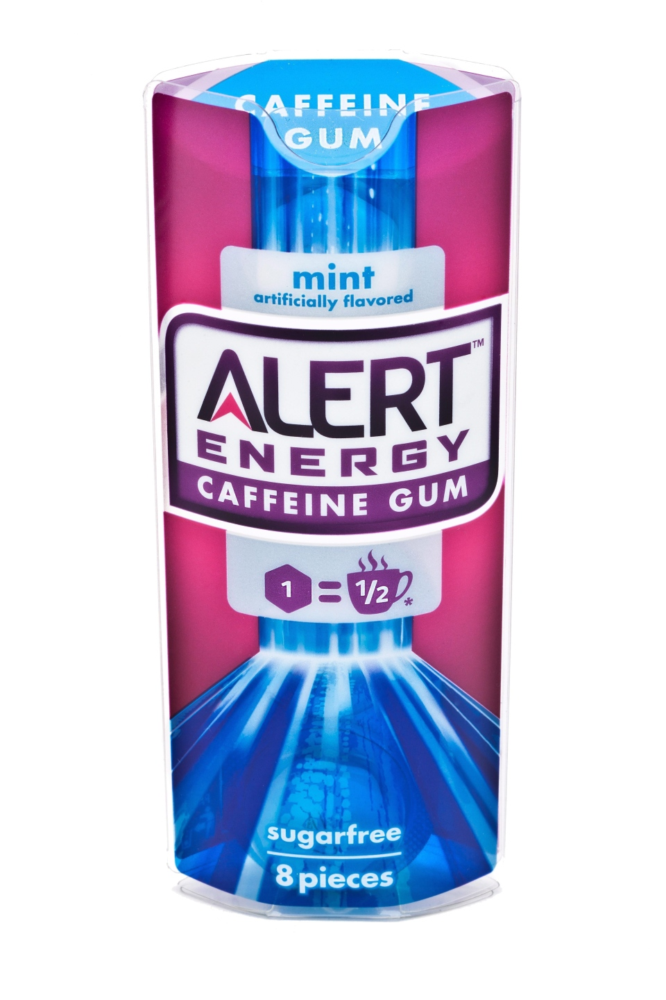 This product image provided by the Wm. Wrigley Jr. Company shows packaging for Alert Energy Caffeine Gum. (Wm. Wrigley Jr. Company)