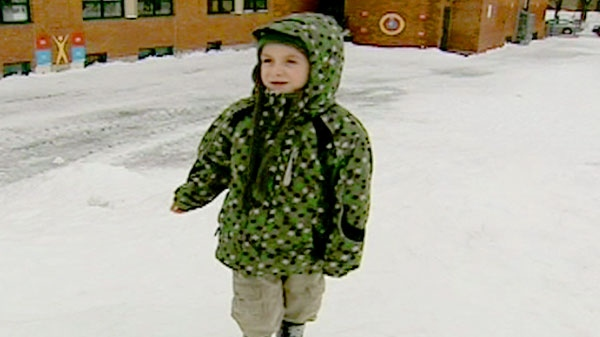 Seven-year-old Olivier Prescott speaks to CTV News about his ordeal, Wednesday, March 9, 2011.