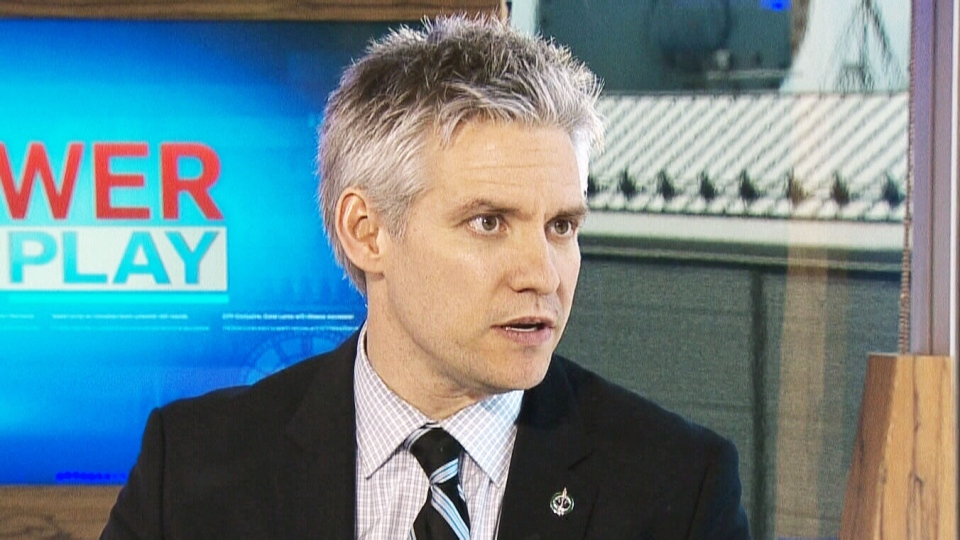 Conservative MP Mike Lake speaks to CTV's Power Play Wednesday, May 1, 2013.