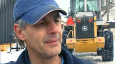 Snowplow operator Rene Huberdeau tells CTV News he should have seen the boy, but did not know he was there.
