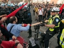 May Day demo