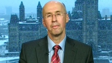 Parliamentary Budget Officer Kevin Page appears on CTV News Channel from studios in Ottawa, Thursday, March 9, 2011.