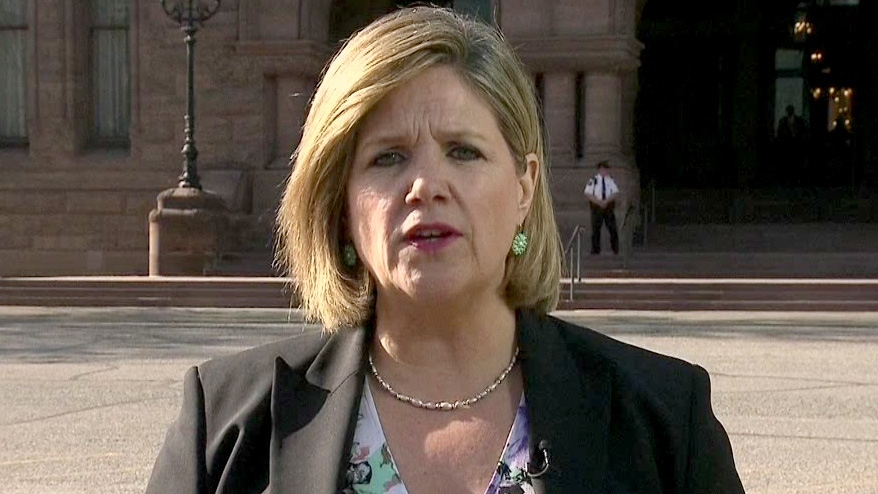 Ontario NDP Leader Andrea Horwath appears on CTV's Power Play on Thursday, May 2, 2013.