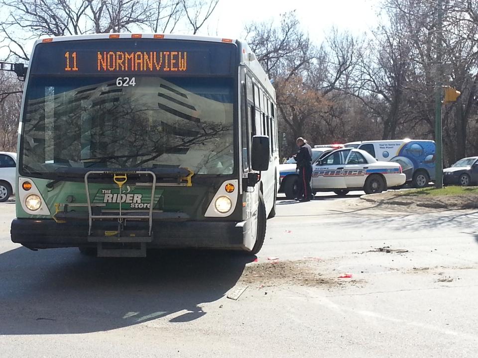 Regina transit bus crash