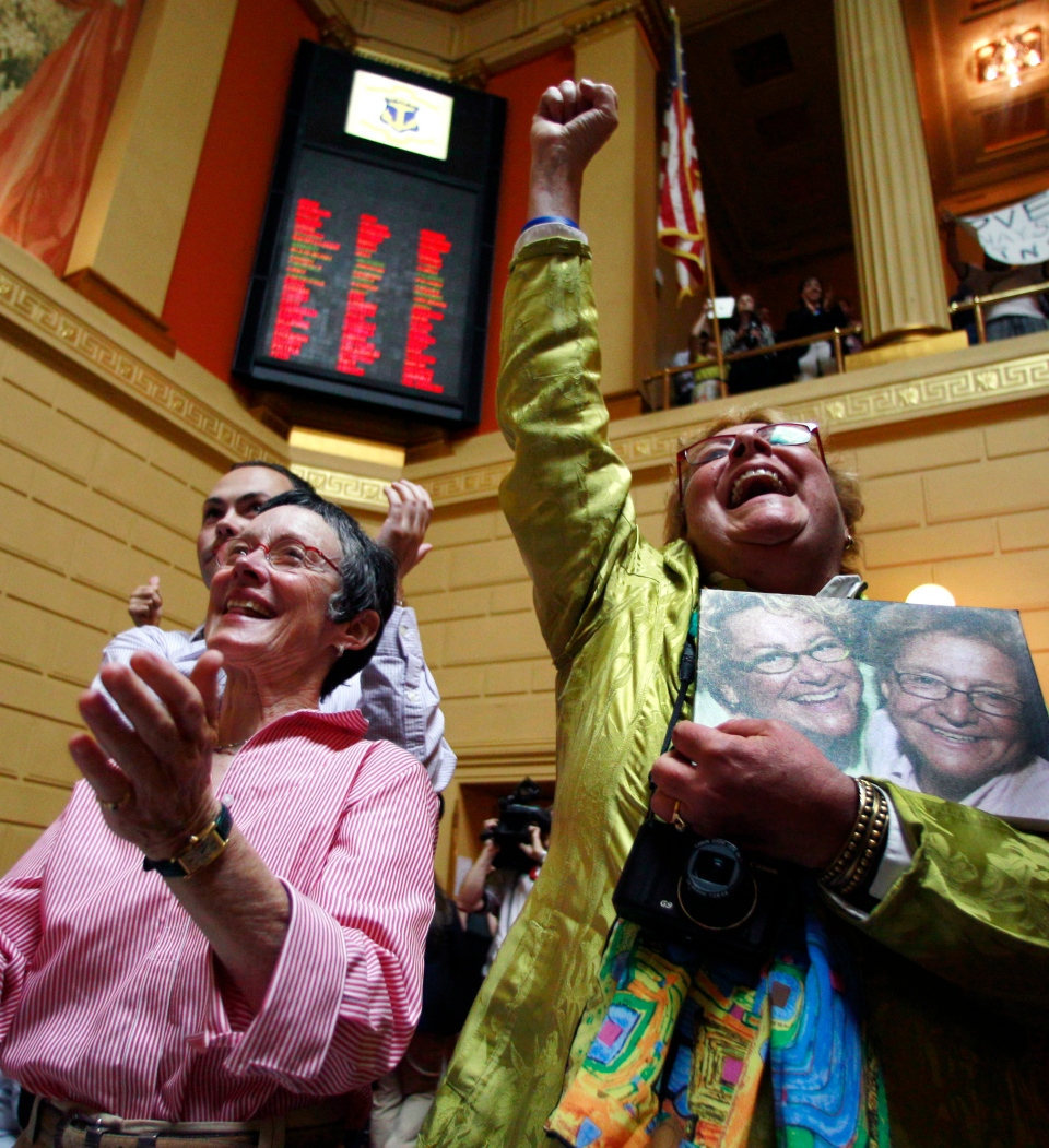 gay marriage final The wave of democrats who've recently come out in support of same-sex  marriage grew larger today, with two more senators announcing that.