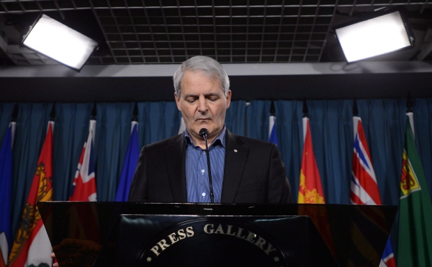 Marc Garneau snubbed at Canadarm exhibit