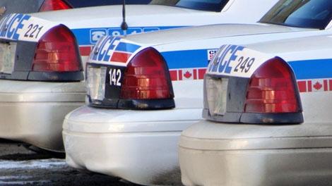 Saskatoon police cars
