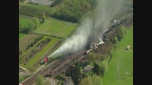 Extended: Belgium train derailment