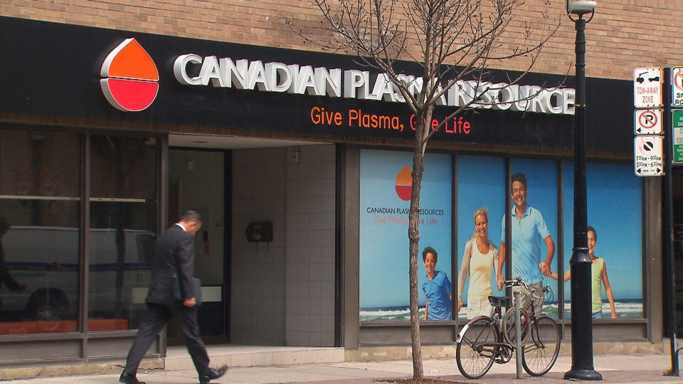 Based out of Toronto, Canadian Plasma Resources is hoping to open three collection clinics across Ontario.