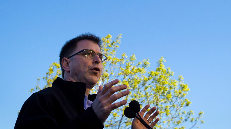 Layton never far from Adrian Dix's campaign