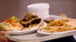 Ultra-processed foods, such as pizza or burgers, are typically high in sodium, saturated fat and sugars.