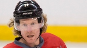 Daniel Alfredsson, seen in this CP file photo, netted the opening goal Sunday to give the Senators a 1-0 lead.