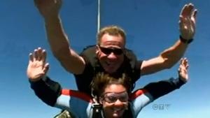 CTV Edmonton: Man dies in skydiving incident