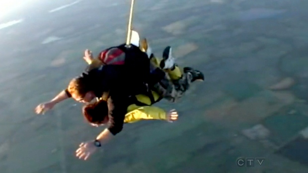 Family planning funeral after Alberta skydiver dies in jump