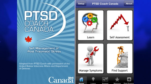 PTSD Coach Canada app to help Canadian vets