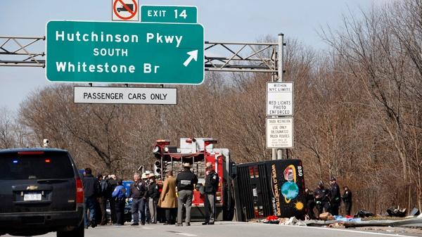 14 people killed in NYC tour bus crash | CTV News