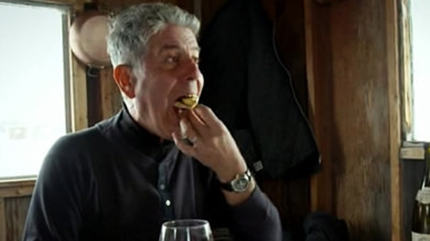 anthony bourdain in montreal