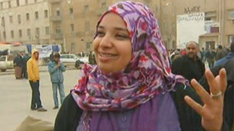 Winnipegger Isha Aftaita speaks with CTV News in Libya.
