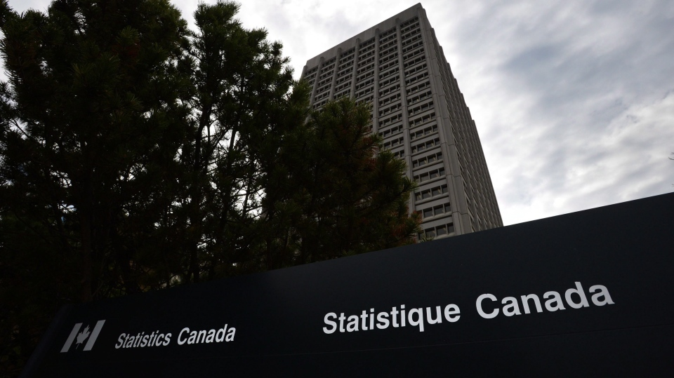 The Statistics Canada offices at Tunney's Pasture in Ottawa are seen, Wednesday, May 1, 2013. (Sean Kilpatrick / THE CANADIAN PRESS)