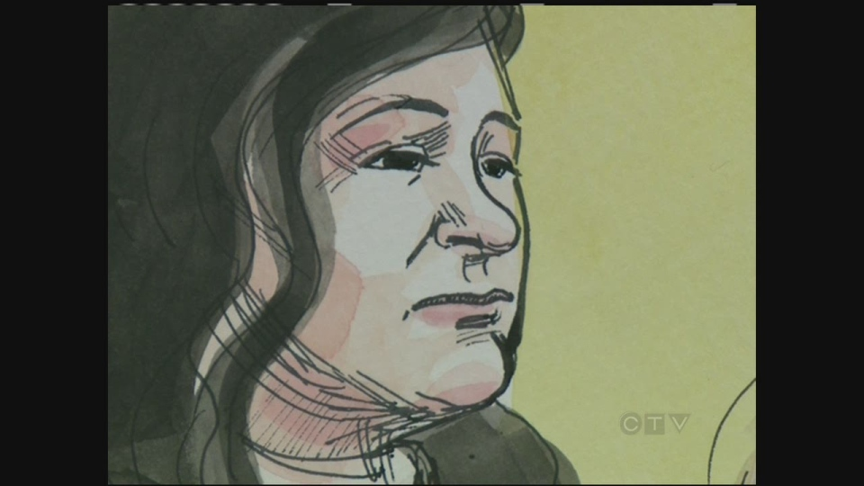CTV Montreal: Grandmother sobs in trial of mob wif