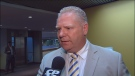 City Coun. Doug Ford speaks to CP24 on Tuesday, May 7, 2013.