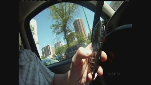 While dangerous driving is covered under the Criminal Code, cases involving distraction are a provincial responsibility.