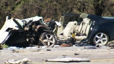 Major crash on Highway 404