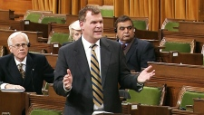Baird at an emergency debate on Syria