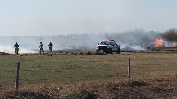 Highway 6 fire