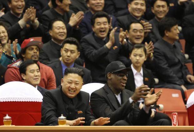 Dennis Rodman asks Kim Jong Un to release American
