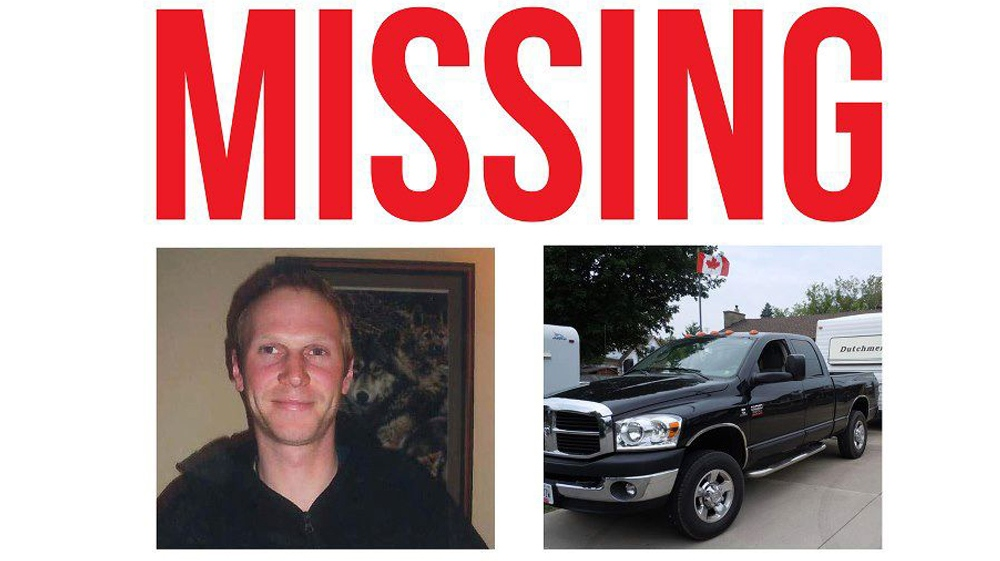 Timothy Bosma, missing from Ancaster since Monday,