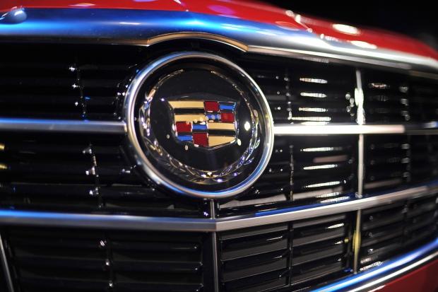 Cadillac badge, March 26, 2013.