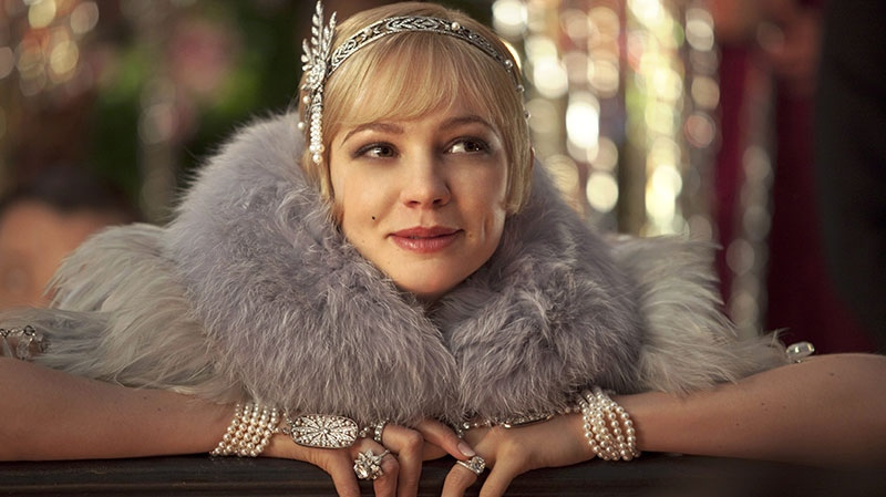 Carey Mulligan as Daisy Buchanan in a scene from Warner Bros. Pictures Canada's 'The Great Gatsby'