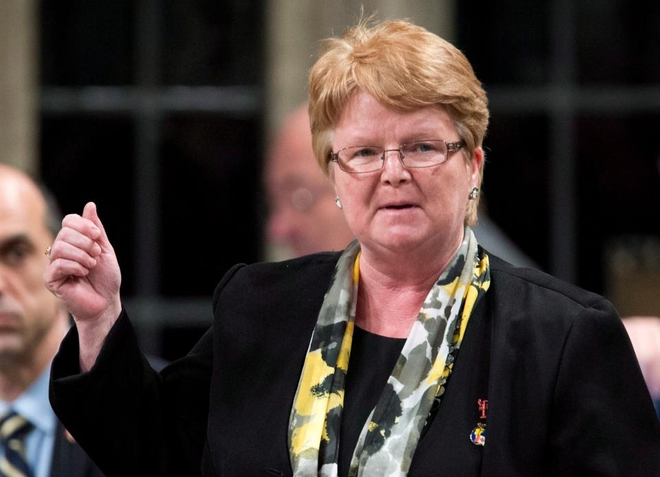National Revenue Minister Gail Shea