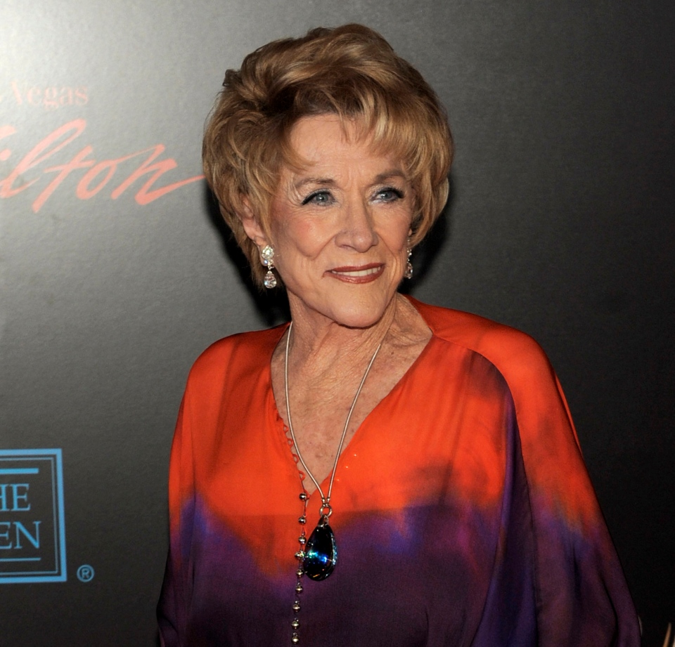 Actress Jeanne Cooper arrives at the 37th Annual Daytime Emmy Awards in Las Vegas in this 2010 file photo. CBS says soap opera star Jeanne Cooper has died. She was 84. (AP Photo/Chris Pizzello)