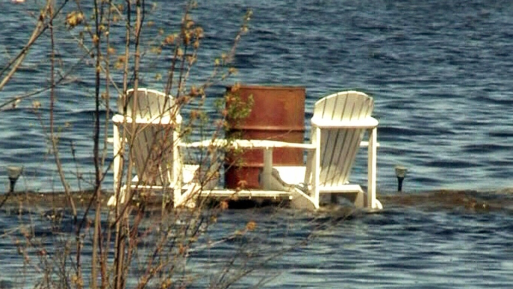 Updated Flood Warning in effect for North Bay district