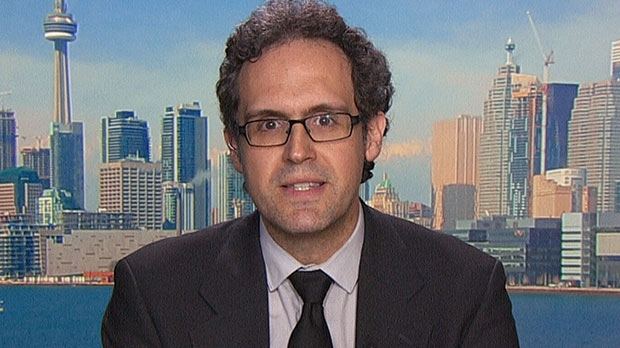 Rafael Gomez, a professor of industrial relations and human resources at the University of Toronto, speaks to CTV News Channel on Wednesday, May 8, 2013.