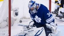 Leafs lose OT winning goal