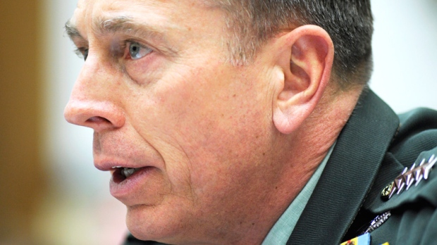 Army Gen. David Petraeus, the top U.S. commander in Afghanistan, testifies before the House Armed Service Committee on Capitol Hill in Washington, Wednesday, March 16, 2011. (AP / Cliff Owen)