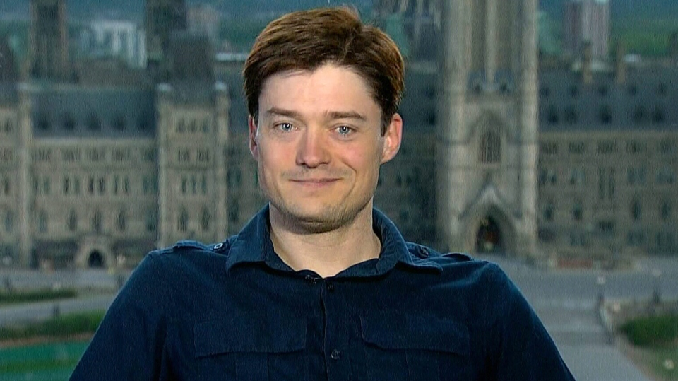 Andrew Rader appears on Canada AM from CTV studios in Ottawa, Friday, May 10, 2013.