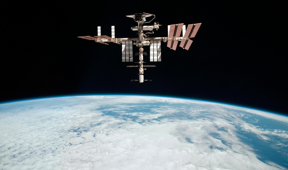 The International Space Station is seen in this 2011 file photo. (Paolo Nespoli / NASA)