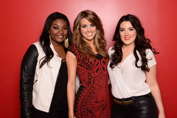 Candice Glover, Angie Miller and Kree Harrison