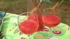 Watermelon & Lime Agua Fresca.