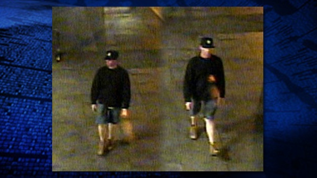 Vancouver police released surveillance footage of a sex assault suspect accused in attacks on two women in downtown Vancouver on May 4 and 5, 2013.