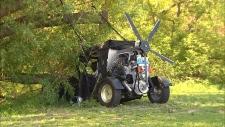 CTV BC: Flying car crashes in Vernon