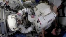 Spacewalk to prepare leak NASA