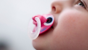 A study found that the children of mothers who sucked on their pacifiers in order to clean them had a lower allergic response.