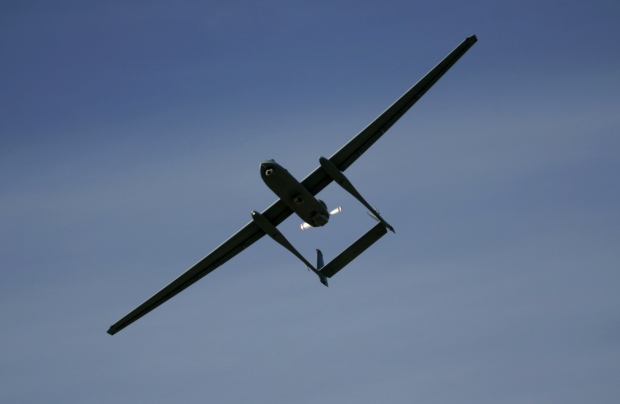 Israeli army's Heron unmanned drone