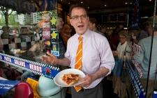 B.C. NDP Leader Adrian Dix runs positive campaign